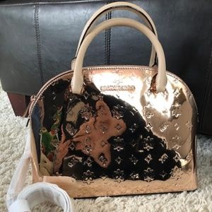 Michael Kors EMMY Large Dome Satchel - ROSE GOLD